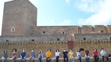 foto di gruppo degli studenti vincitori